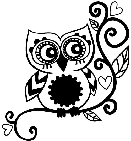 Tessie Girl: Owl Ink