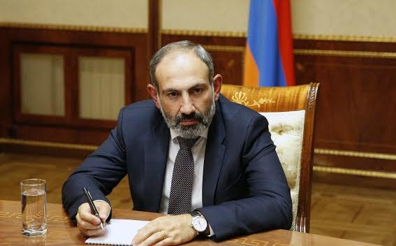 Primer ministro armenio visitará Rusia para abrir la Copa del Mundo