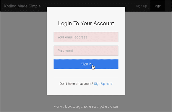 ajax-login-form-jquery-validation