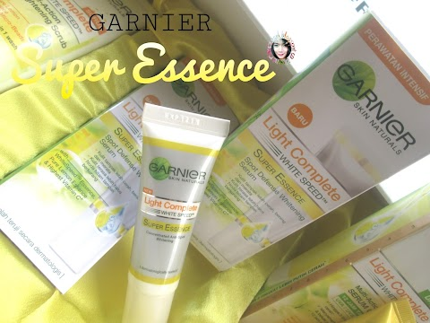Review Garnier Light Complete White Speed Super Essence