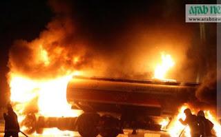 Mobil Truk Tangki Gas Meledak di Jalan Jeddah-Mekkah, 1 Orang Tewas