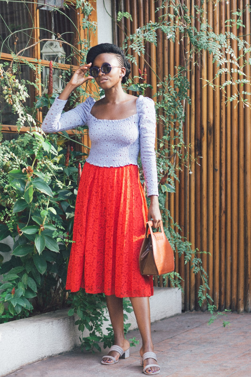 asos skirt, topshop shoes, lekki, arts and crafts market
