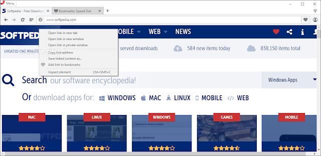 تحميل متصفح اوبرا مجانا للكمبيوتر Opera Web Browser 41