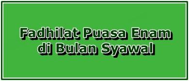 Fadhilat Puasa Enam di Bulan Syawal