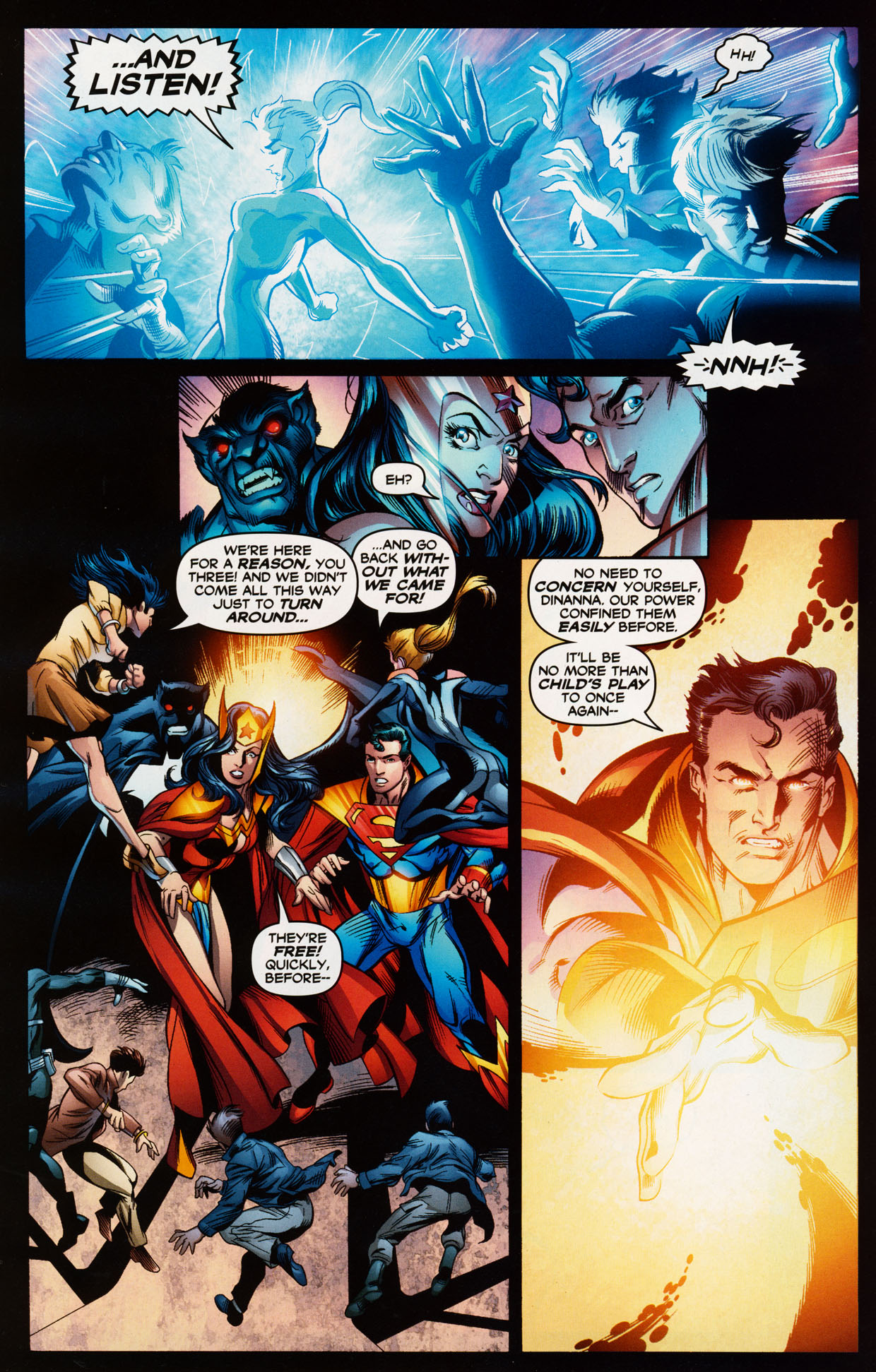 Read online Trinity (2008) comic -  Issue #38 - 4