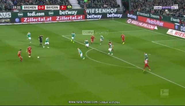 فيديو : ملخص واهداف مباراة   فيردر بريمن وبايرن ميونخ 2 - 1 السبت  01-12-2018 الدوري الالماني