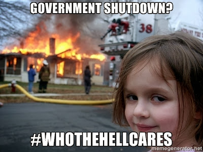 Shutdown Showdown: Who the Hell Cares?
