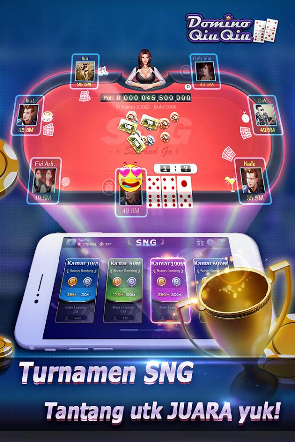 Download Game Domino QiuQiu : 99(KiuKiu)