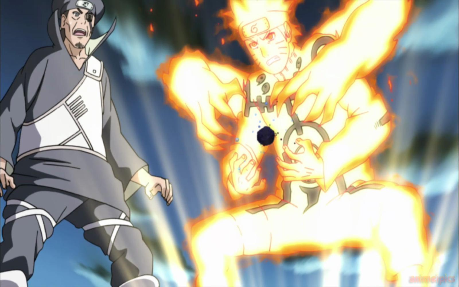 Naruto Shippuden Nine Tailed Fox Mode Rasengan Resolution ...