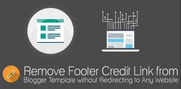 menghapus credit link blogger
