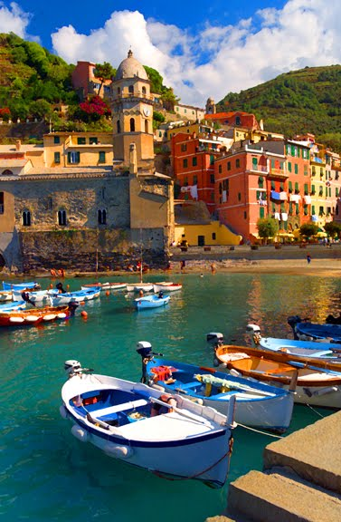 We Dream Of Happiness Vision Board Cinque Terre Italy