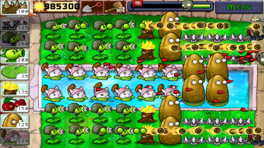 Plants Vs Zombies Unlimited Sun