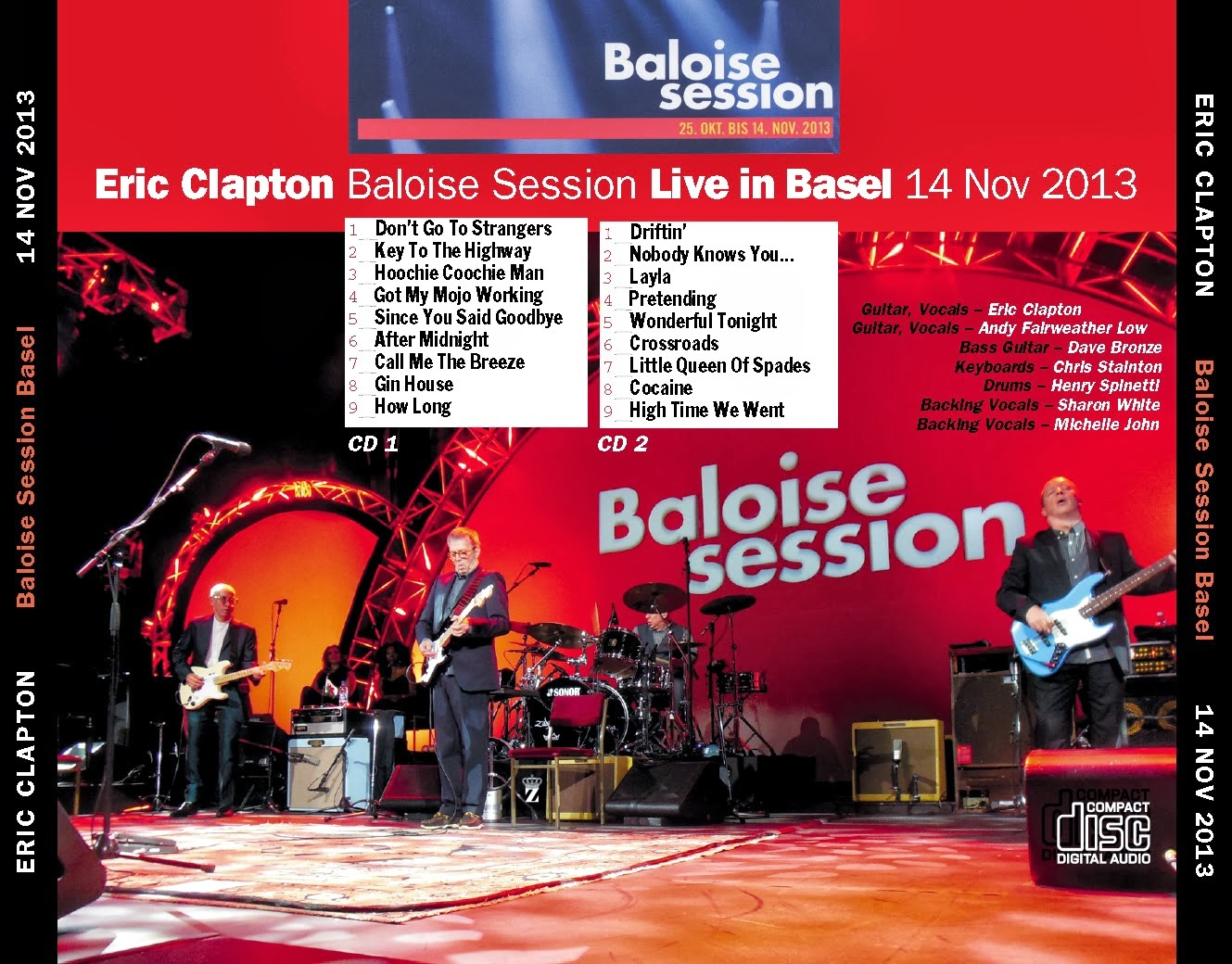 all good music eric clapton baloise session live in basel switzerland 2013. Black Bedroom Furniture Sets. Home Design Ideas