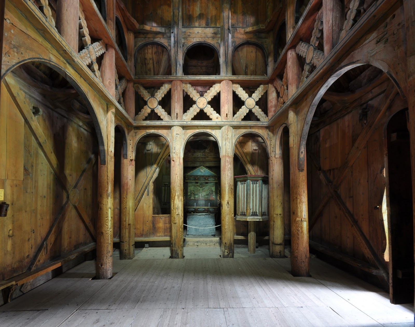 Artodysseys Norway S Historic Stave Churches