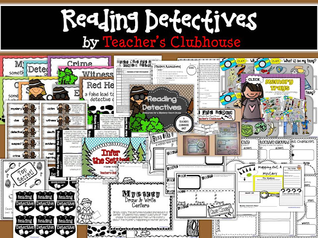 https://www.teacherspayteachers.com/Product/Reading-Detectives-Unit-from-Teachers-Clubhouse-987479