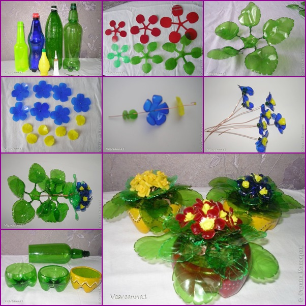 Plastic bottle craft easy arts and crafts ideas for Plexiglass arts and crafts