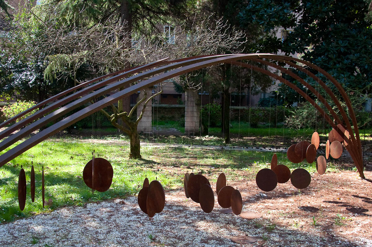 Galileo's Moons Installation, Vicenza, Veneto, Italy