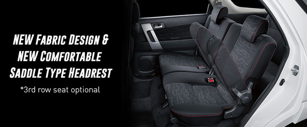 New Fabric design new comfortable saddle type headrest