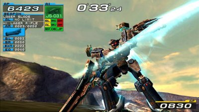 Armored Core: Formula Front Extreme Battle (USA) PSP ISO Game PPSSPP