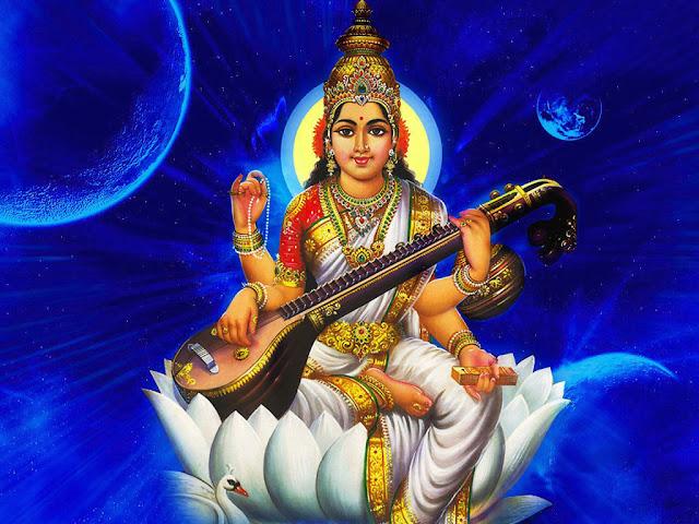 Best Maa Saraswati HD Wallpaper For Desktop