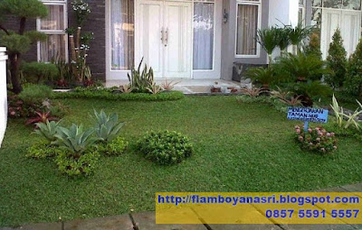Tukang Taman Surabaya Taman Minimalis Depan rumah