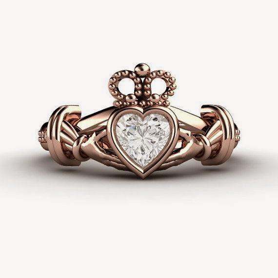 7f292a4192f6 Кладдахское кольцо  легенда, символы и как носить.   Fashion jewelry ...