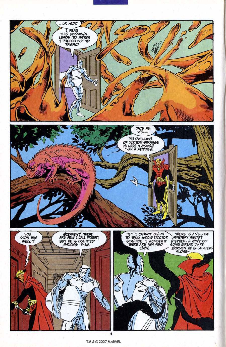 Read online Silver Surfer (1987) comic -  Issue #87 - 6