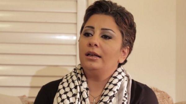 Sandra Salomón, una mujer árabe [palestina] que se convirtió al cristianismo y aboga por Israel.