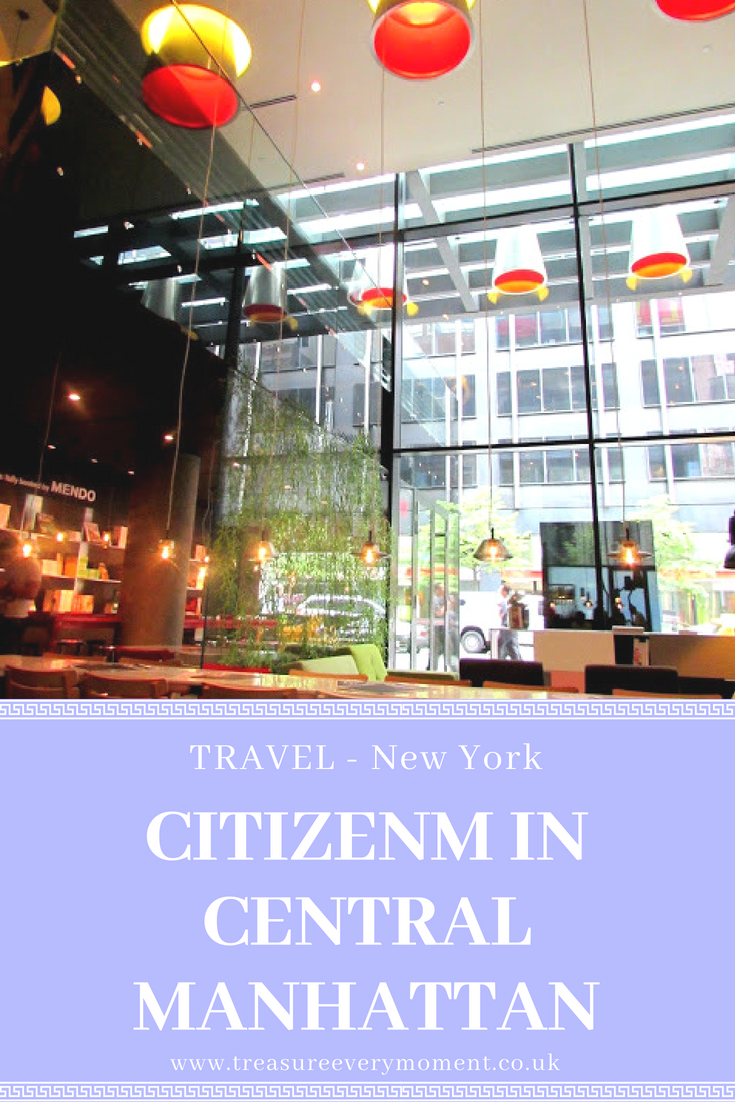 TRAVEL: New York - CitizenM in Central Manhattan