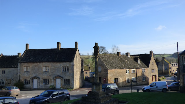 Guiting Power village centre, Cotswolds