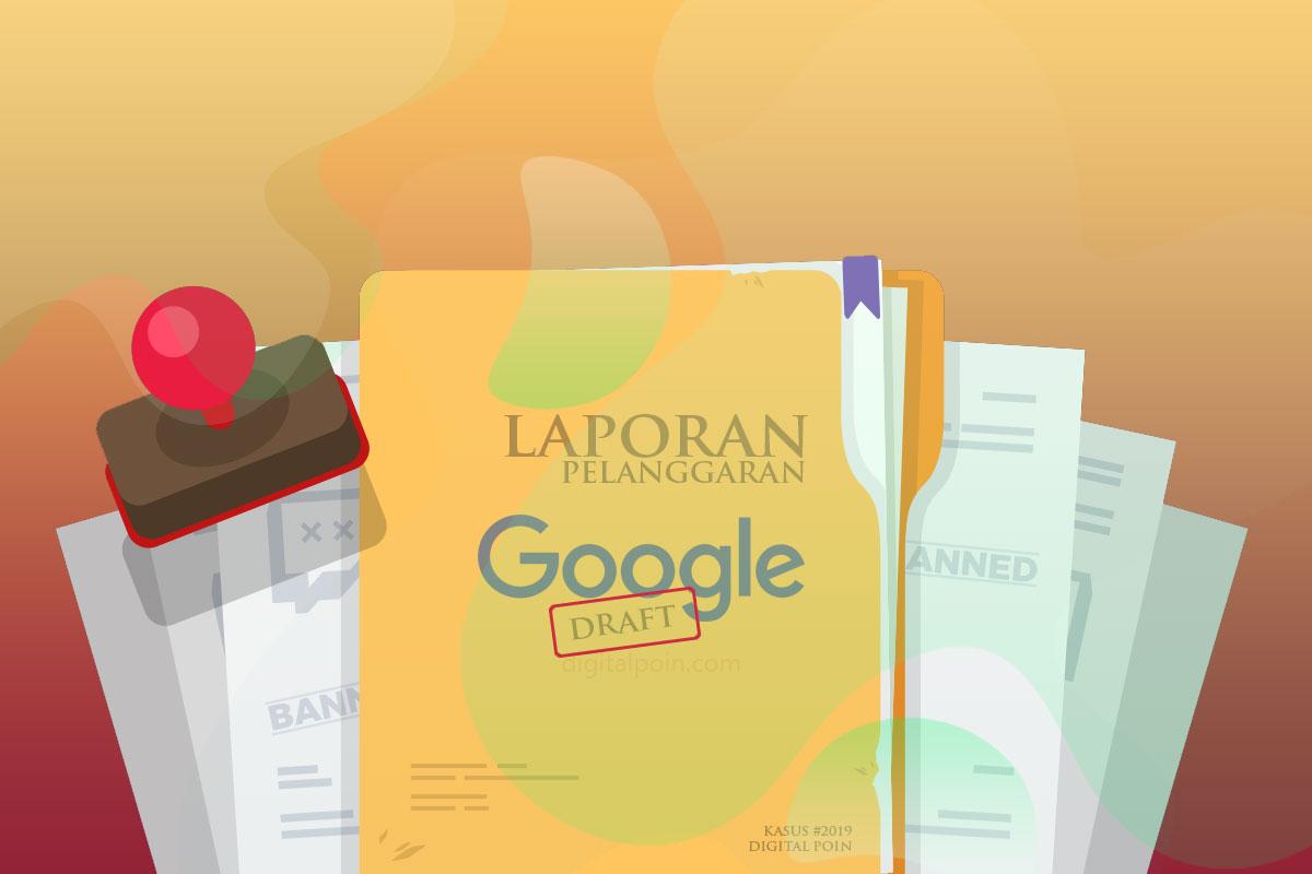 Dampak Konten Blog Dilaporkan Ke Google