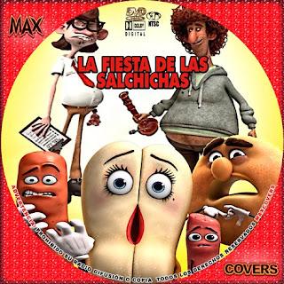 La fiesta de las salchichas Galleta Maxcovers