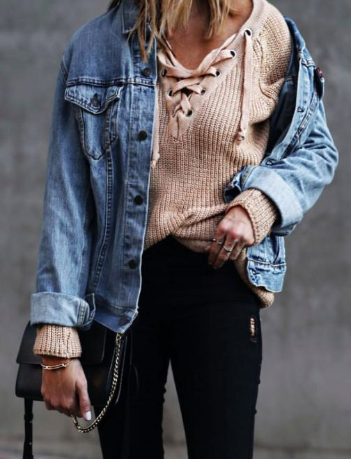 Outfit Inspiration: Lace-Up
