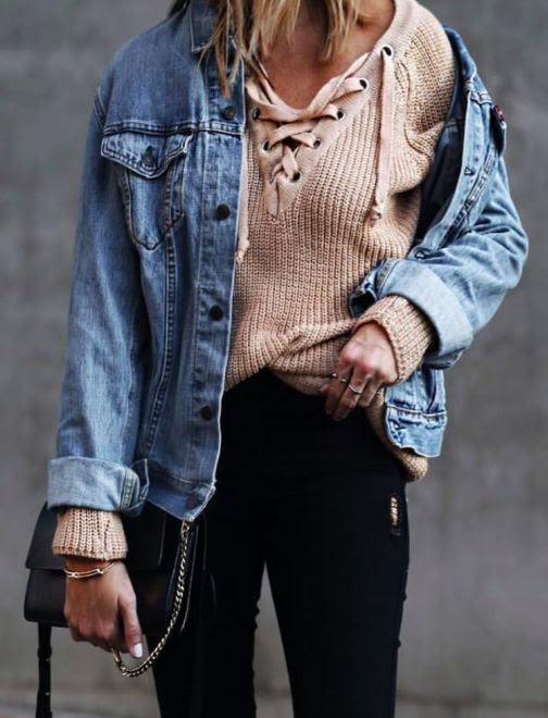 Outfit Inspiration: Lace-Up          -          The Front Row View