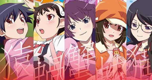 Anime Mirip Nisekoi Terbaik - Bakemonogatari