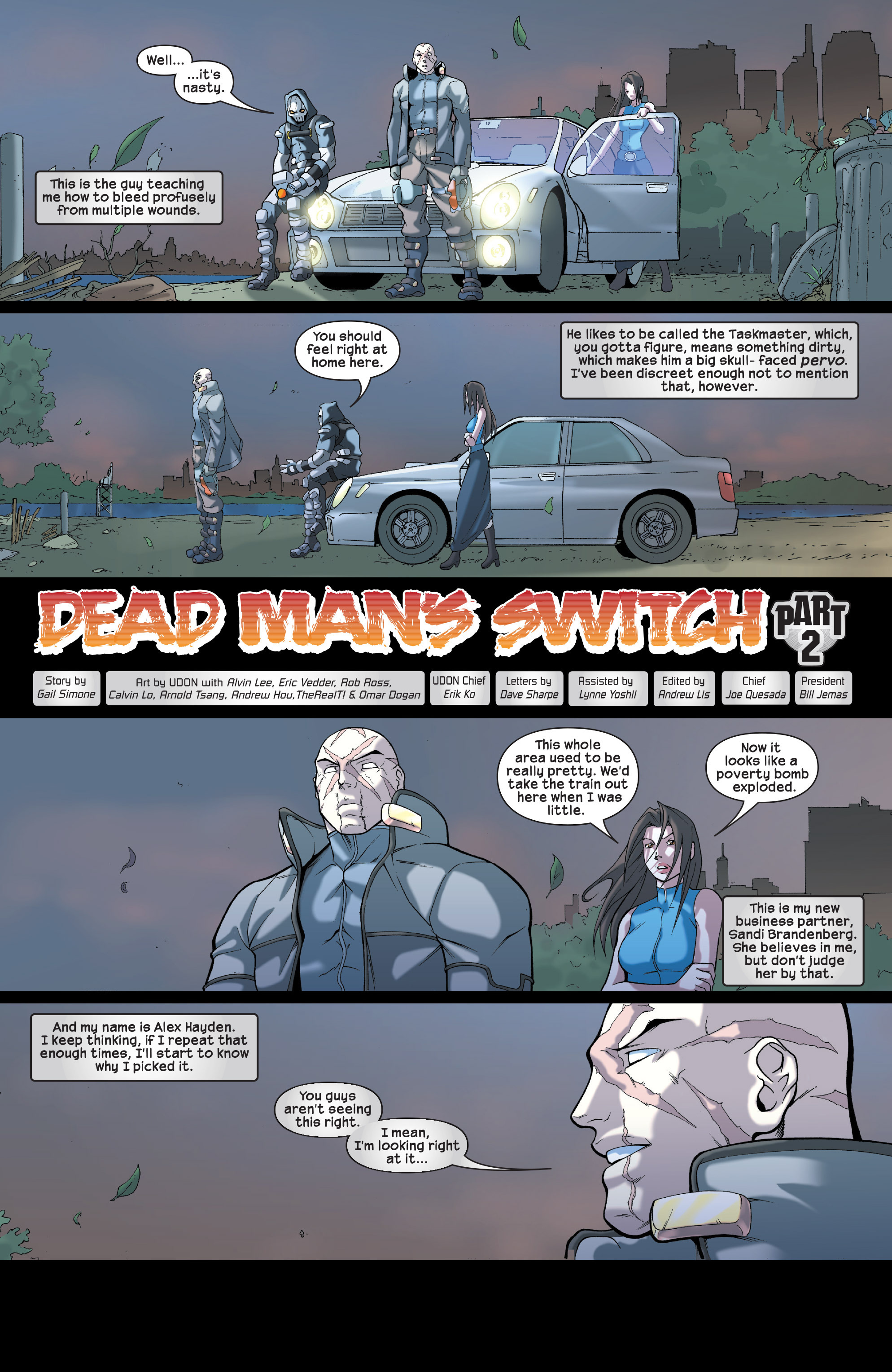 Read online Agent X comic -  Issue #2 - 3