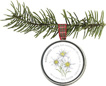 Holiday Ornament - Edelweiss