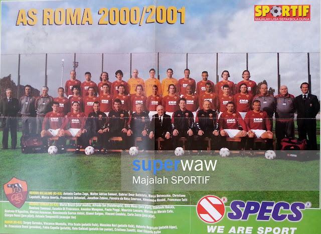 Poster Tim AS Roma 2000