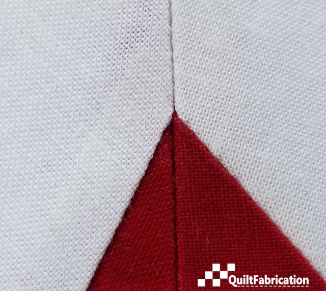 red point seam match