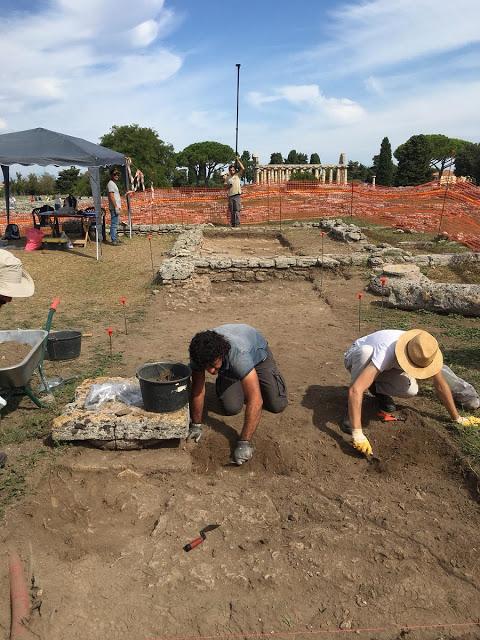 Νέα ευρήματα στην Ποσειδωνία της Μεγάλης Ελλάδας