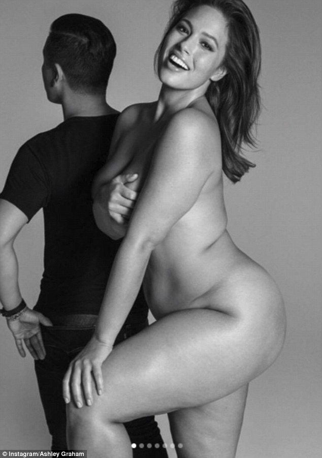 Ashley Graham poses nude for Prabal Gurung's first plus size collection!