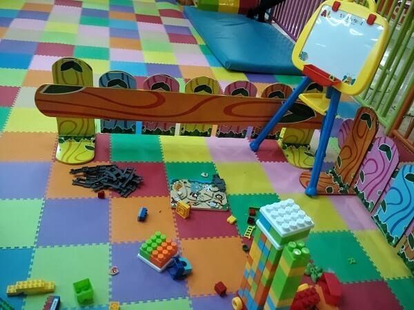 tempat bermain anak di mal lampung