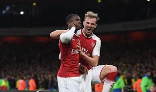 Arsenal Atasi Perlawanan Norwich City di Piala Liga Inggris