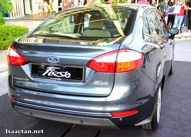 Ford Fiesta's tail lamps