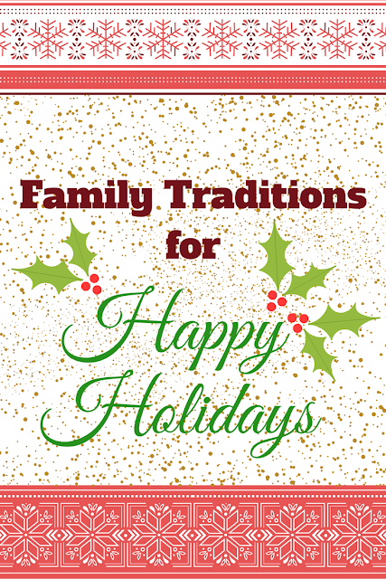 Mom2MomEd Blog: Family Traditions for Happy Holidays