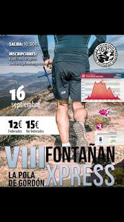 Fontañan Express 2018