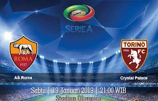 Prediksi AS Roma vs Torino 19 Januari 2019