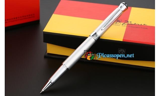 Bút ký cao cấp Picasso Pimio 903 màu bạc