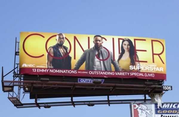 Jesus Christ Superstar Emmy nominee billboard