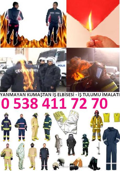türkiye - kişi yanmayan yanmaz iş paltarı iş önlüyü emalatı
